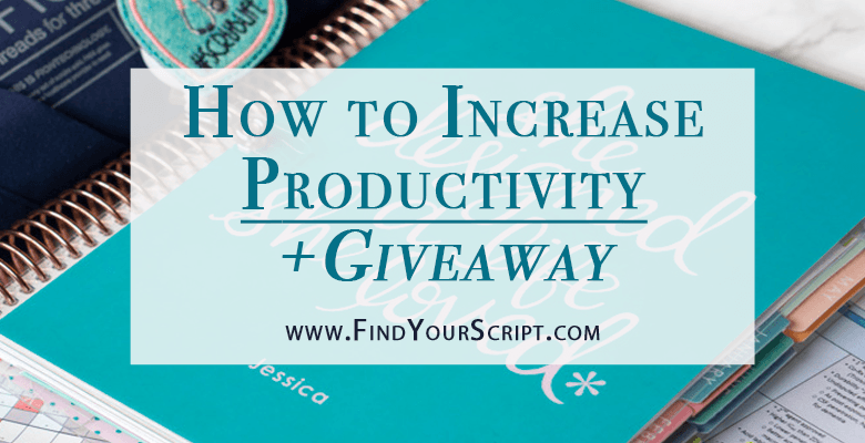 How to increase productivity | Erin Condren giveaway | Top 3 recommendations to be more productive at work at school at life. Planning, Diary of the day, Self-care. Pharmacy school, medical school, nursing school resources & help