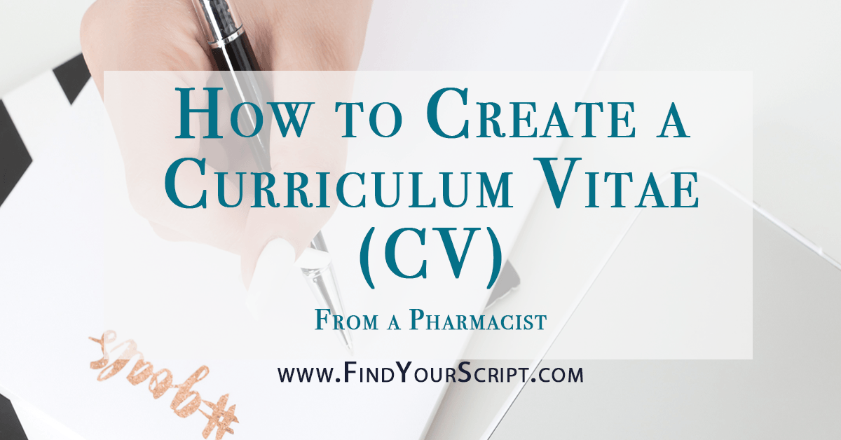 how to create a curriculum vitae  cv