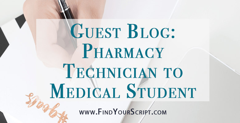Best Medical School Resources | How to use my pharmacy technician experience to achieve success in medical school | M1 guest blog post | Med Life Motive | Medication charts study resources | Find Your Script | Best pharmacist website