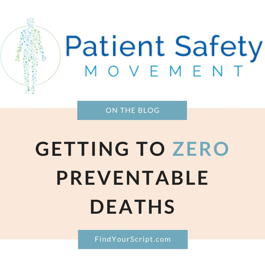 Patient Safety Movement Foundation 7th Annual Summit 2019 Recap and Review by Dr. Jessica Louie, Pharmacist Advocate at Find Your Script and The Burnout Doctor and Burnout Coach | Get to ZERO preventable deaths